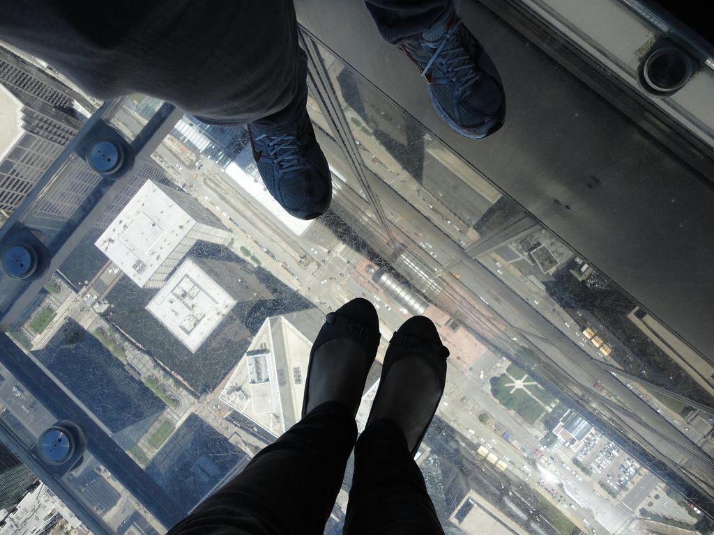 "Chicago - Skydeck no Willis ""Sears"" Tower"
