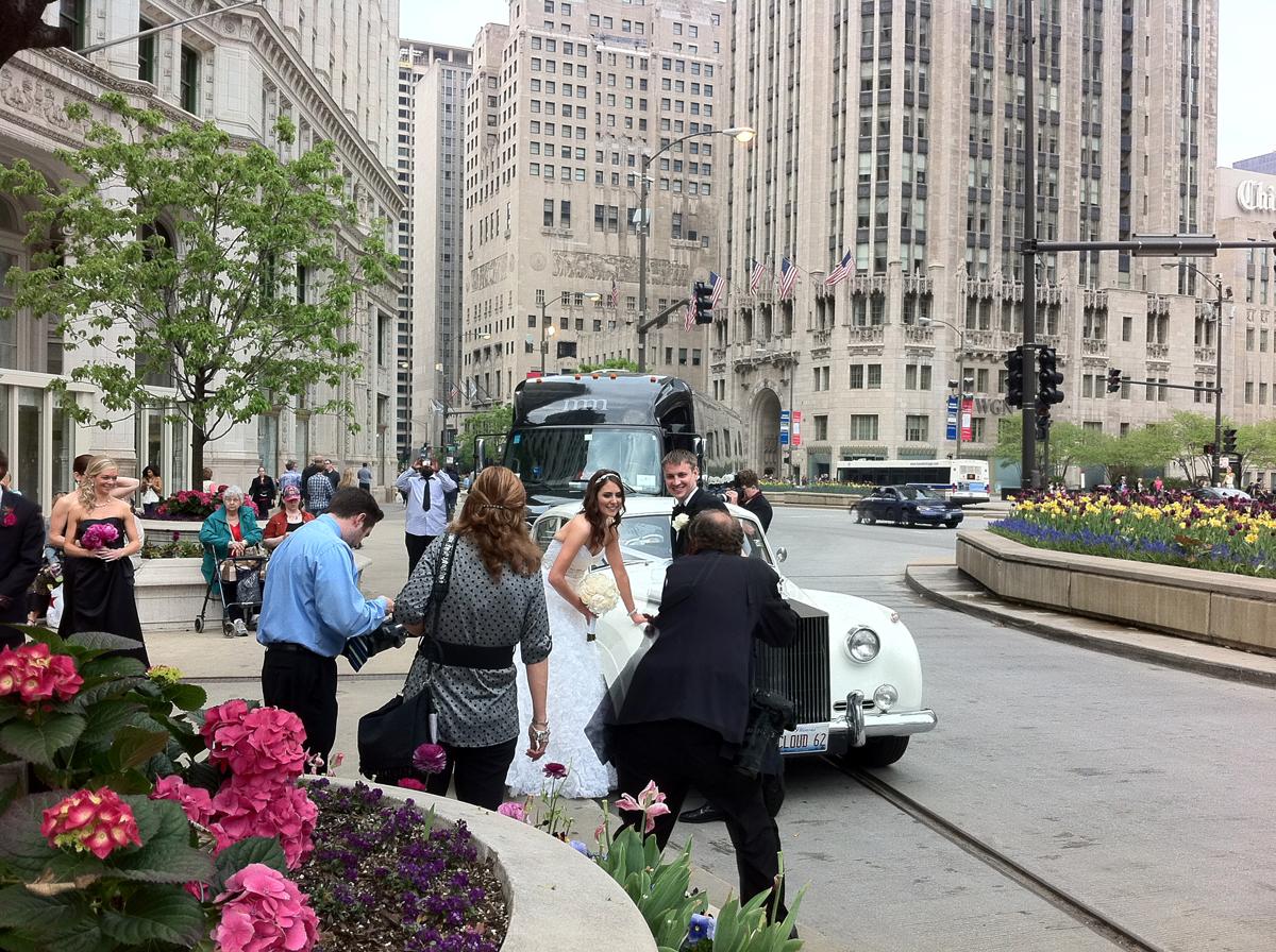 Chicago: casamento no centro!