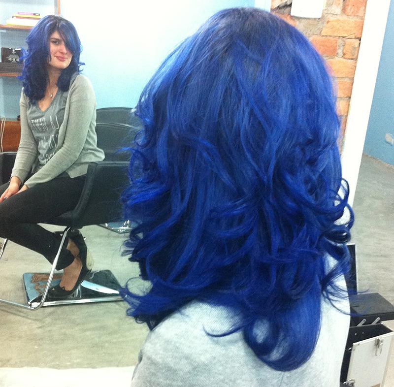DarkDiva - Cabelo Azul