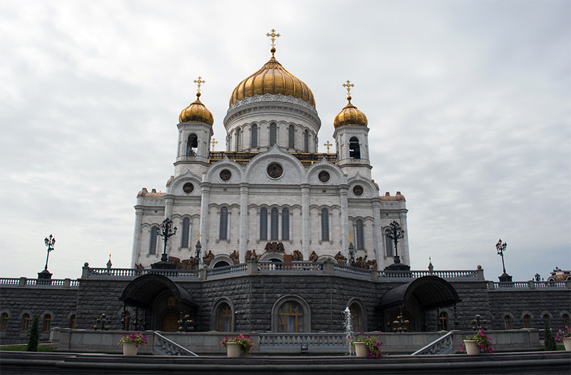 Paula Abrahao - Moscou - Cathedral of Christ The Saviour