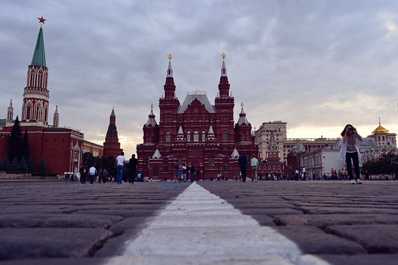 State Historical Museum visto da Red Square