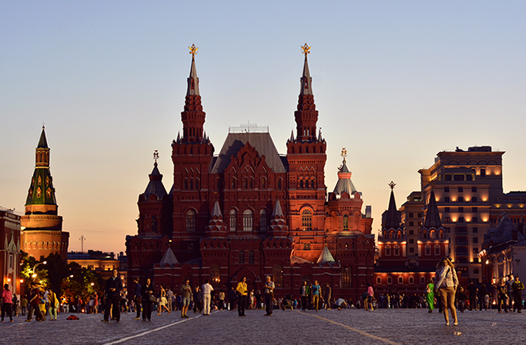 PaulaAbrahao - Red Square