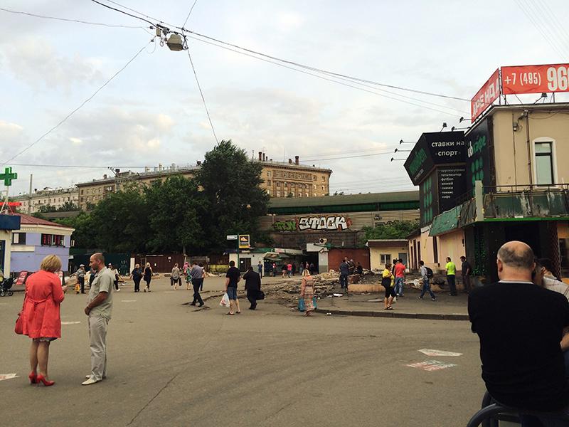 O lado não tão bonito de Moscou