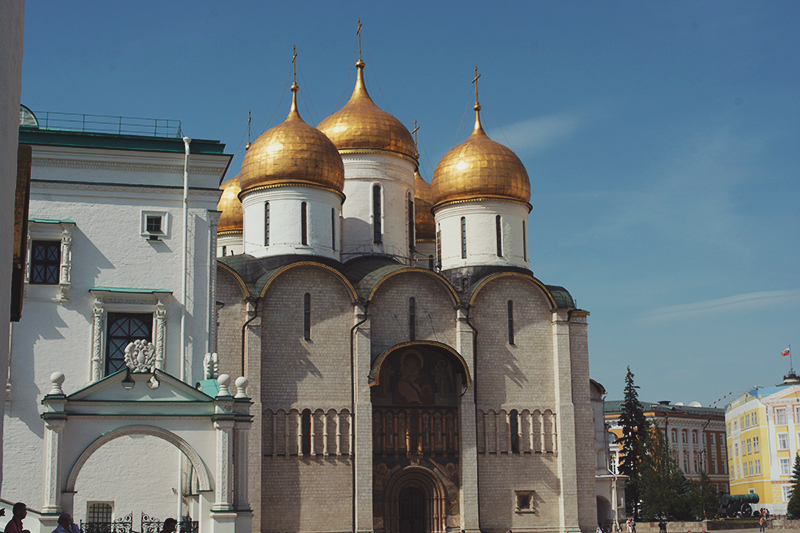 Paula Abrahao - Moscou - Cathedral Square