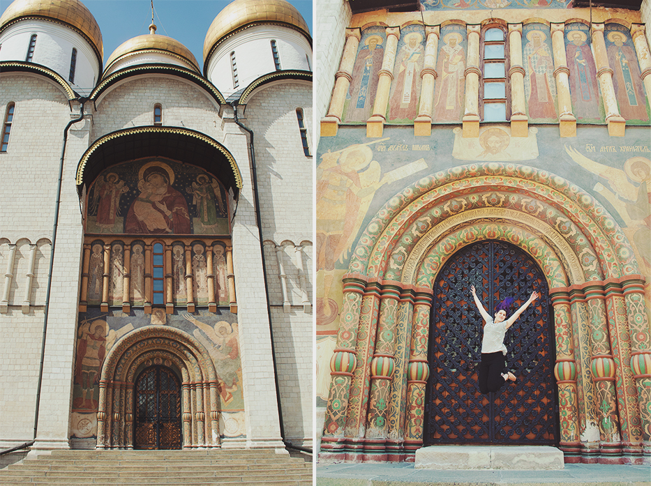 Paula Abrahao - Dormition Cathedral
