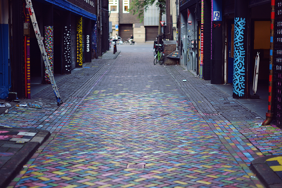 Paula Abrahão - Spuistraat, Amsterdam