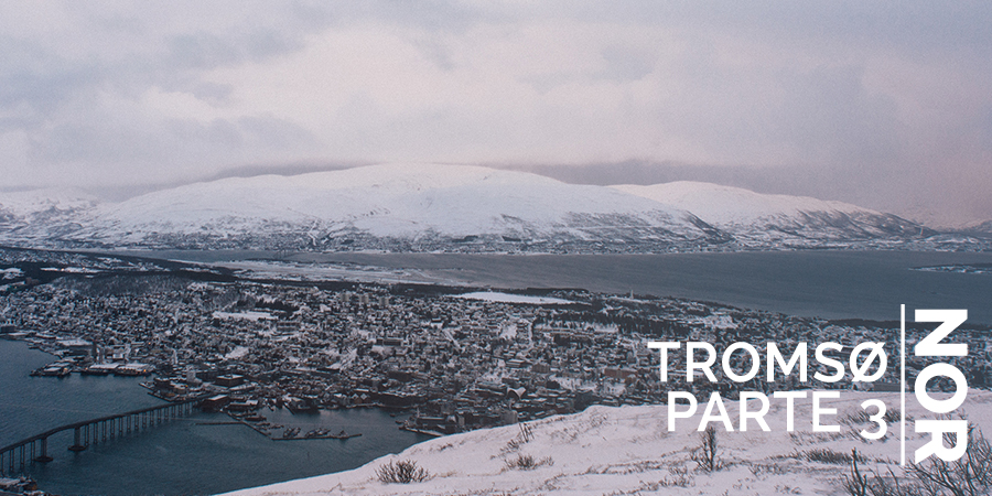 Paula Abrahao | BLOG - Tromsø, teleférico Fjellheisen